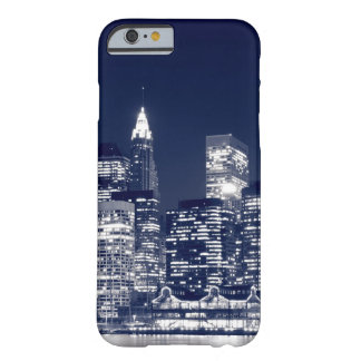 Manhattan Skyline At Night, New York City Barely There iPhone 6 Case