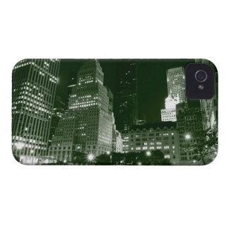 Manhattan Skyline At Night, New York City iPhone 4 Cover