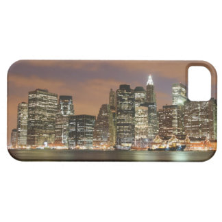 Manhattan Skyline At Night, New York City Case For The iPhone 5
