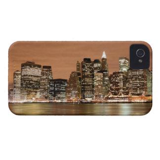 Manhattan Skyline At Night, New York City Case-Mate iPhone 4 Cases