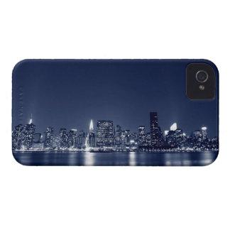 Manhattan Skyline At Night, New York City iPhone 4 Case-Mate Cases