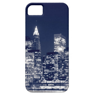 Manhattan Skyline At Night, New York City iPhone 5 Cases