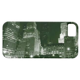Manhattan Skyline At Night, New York City iPhone 5 Cover