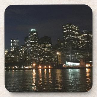 Manhattan Skyline Beverage Coasters