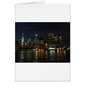 Manhattan Skyline Card