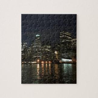 Manhattan Skyline Jigsaw Puzzle