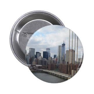 Manhattan skyline New York Pin