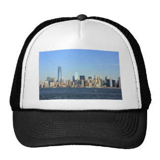 Manhattan Skyline New York City Hat