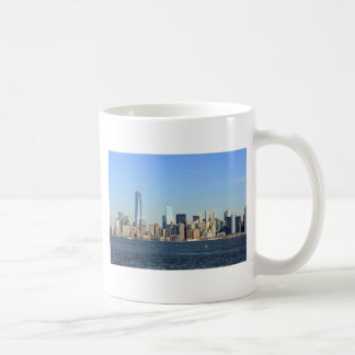 Manhattan Skyline New York City Coffee Mugs