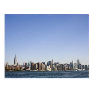 Manhattan Skyline, New York City, NY, USA Postcard