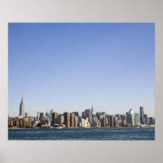 Manhattan Skyline, New York City, NY, USA Poster