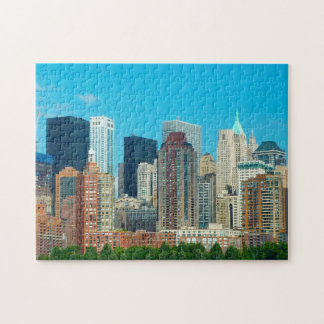 Manhattan Skyline New York. Jigsaw Puzzle