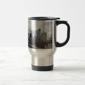 Manhattan skyline New York Mug