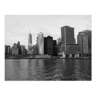 Manhattan Skyline New York Postcard