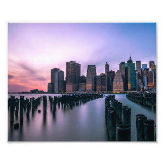 Manhattan Skyline Photo Print