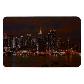 Manhattan Skyline Rectangular Magnets