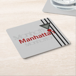 Manhattan Square Paper Coaster