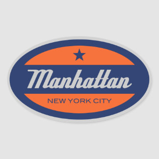 *Manhattan Sticker