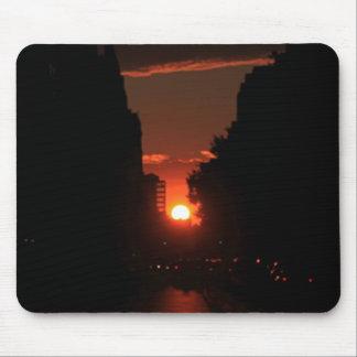 Manhattanhenge - 7/13/11 mousepad