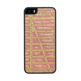 Manhatten, New York 7 Wood iPhone SE/5/5s Case