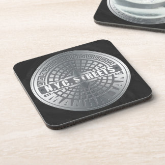Manhole Covers Manhattan Coasters