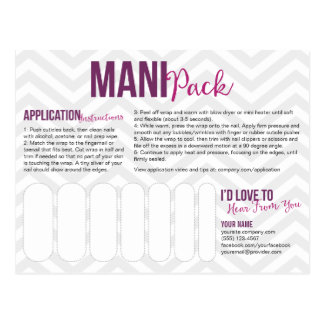 Mani Pack Postcards