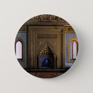 Manial Palace Mosque Cairo 6 Cm Round Badge