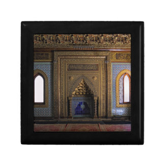 Manial Palace Mosque Cairo Small Square Gift Box