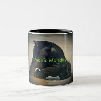 Manic Monday Two-Tone Mug