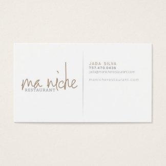 MaNiche - Jada Business Card