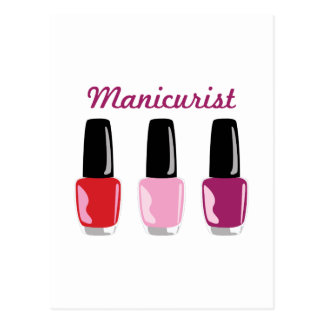 Manicurist Postcard