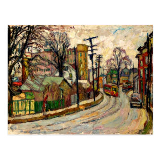 Manievich - A Street in the Bronx Postcard