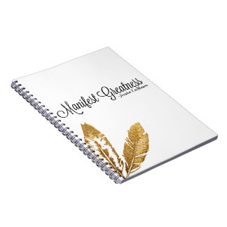 Manifest Greatness Journal Note Books