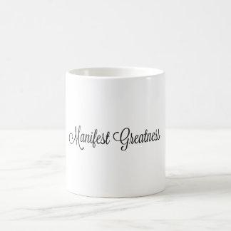 Manifest Greatness Mug