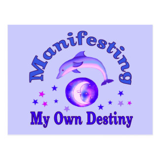 Manifest Own Destiny Postcard