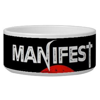 Manifest Pet Bowl
