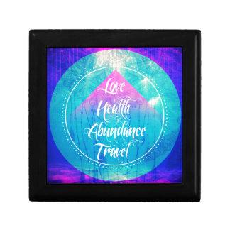 Manifesting Love Health Abundance Travel series Gift Box