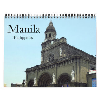 manila 2018 wall calendar