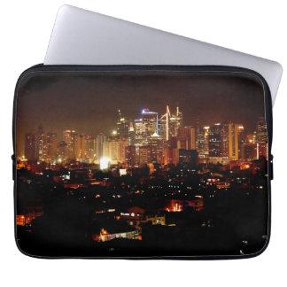 Manila at Night Laptop Sleeve