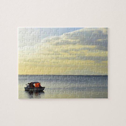 Manila Bay Sunset Jigsaw Puzzle