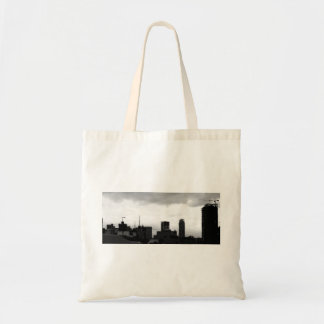 Manila City Sky Line Tote Bag