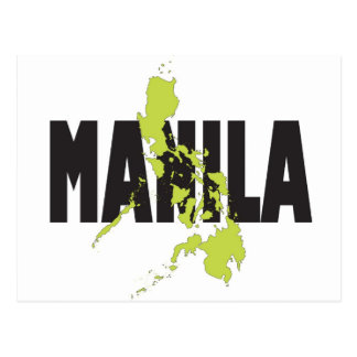 Manila, Philippines Postcard