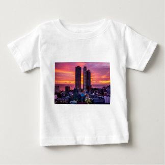 Manila Philippines Skyline Baby T-Shirt