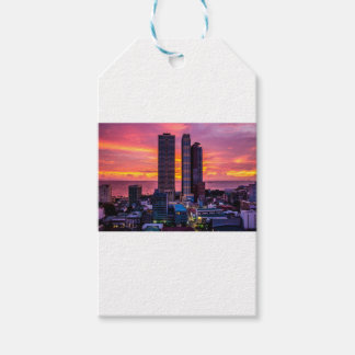 Manila Philippines Skyline Gift Tags