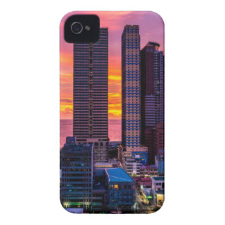 Manila Philippines Skyline iPhone 4 Cover