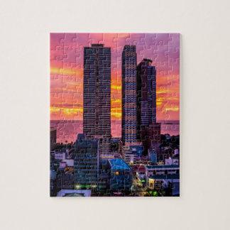 Manila Philippines Skyline Jigsaw Puzzle