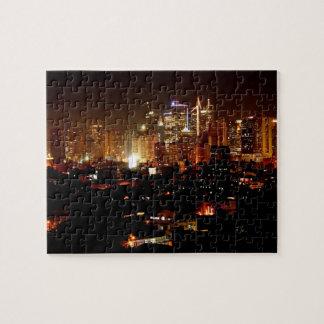 Manila Skyline Jigsaw Puzzle