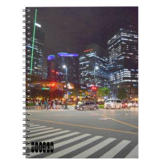 Manila Spiral Notebook