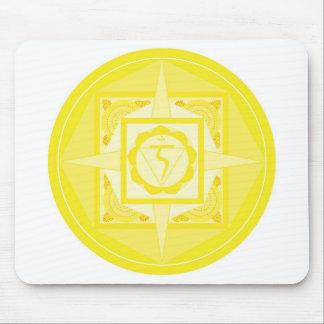Manipura Chakra Mandala (solar plexus Chakra) Mousepads