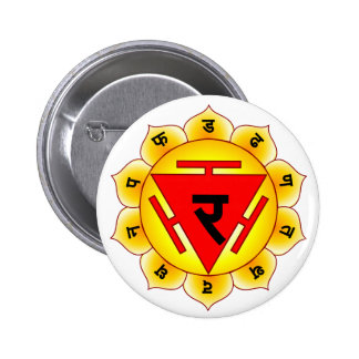 Manipura The Solar Plexus Chakra Button